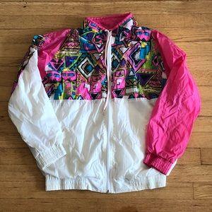 Vintage Colorful Track Jacket